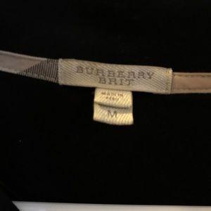 Black Burberry Brit sweater